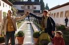 Один из двориков в Альгамбре