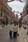 Пешеходная улица в Малаге
