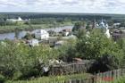 Вид на Гороховец с Пужаловой горы