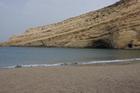 Пляж в Матале