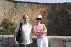 Отвесные скалы у Красного озера