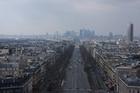 Вид на район Дефанс с Триумфальной Арки