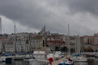 Марсельский старый порт днем