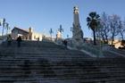 Знаменитая лестница в Марселе