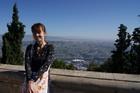 Вид на Тбилиси с верхней станции фуникулера