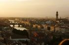 Флорентийские мосты на закате