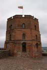Башня Гедеминаса, вид сверху