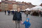 В дождливой Варшаве