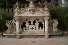 Кинта де Ригалейра. Скамейка в парке