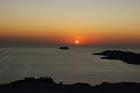 Закат над кальдерой