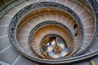 Лестница в музеях Ватикана