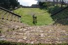 Развалины греческого театра на Липари