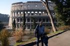 Наши у Колизея
